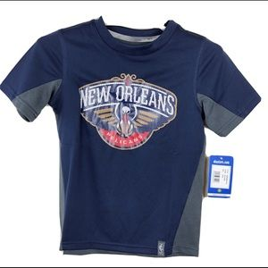 NBA New Orleans Pelicans T Shirt Boys M 5/6 Blue